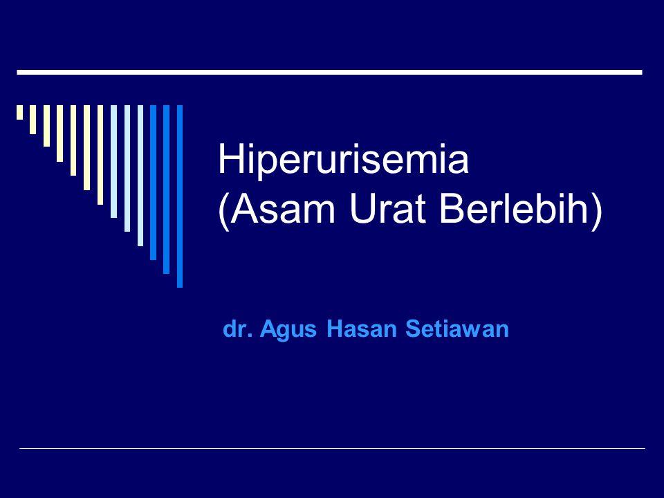 Hiperurisemia (Asam Urat Berlebih)