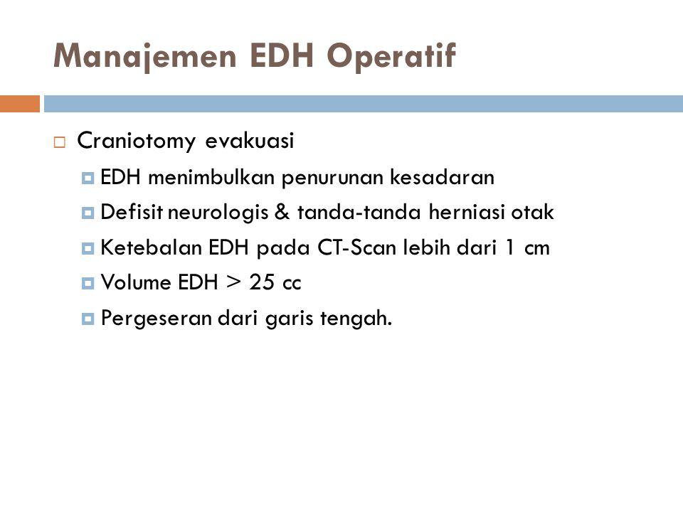 Manajemen EDH Operatif