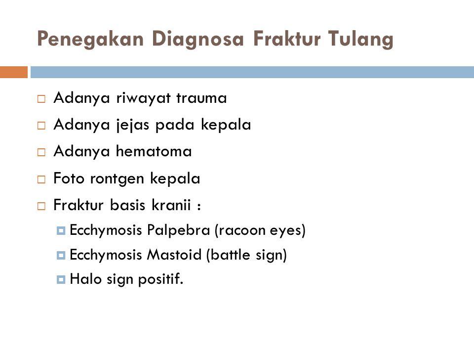 Penegakan Diagnosa Fraktur Tulang