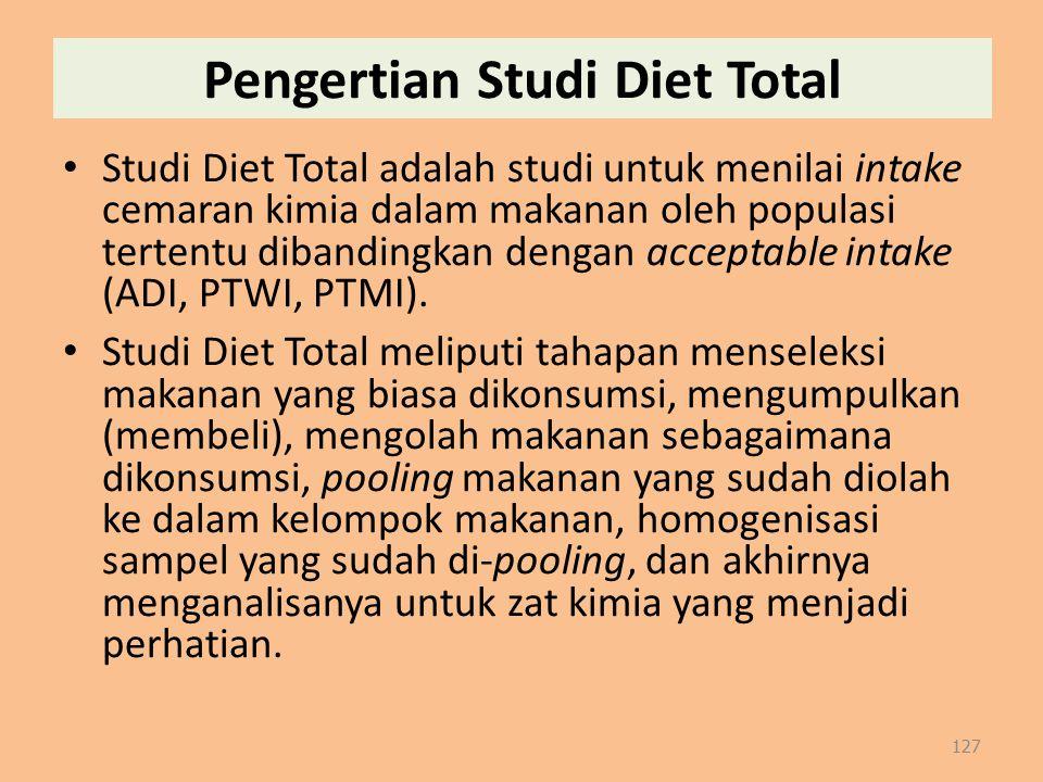 Pengertian Studi Diet Total