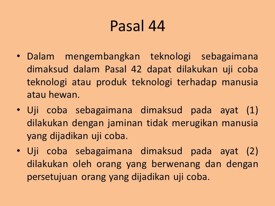 Pasal 44