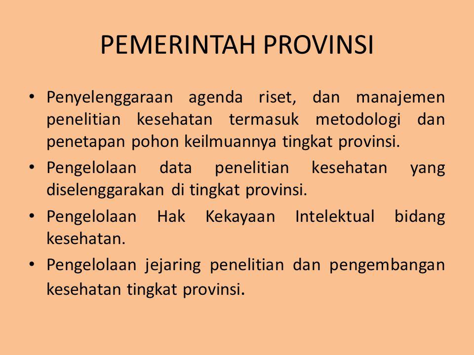 PEMERINTAH PROVINSI