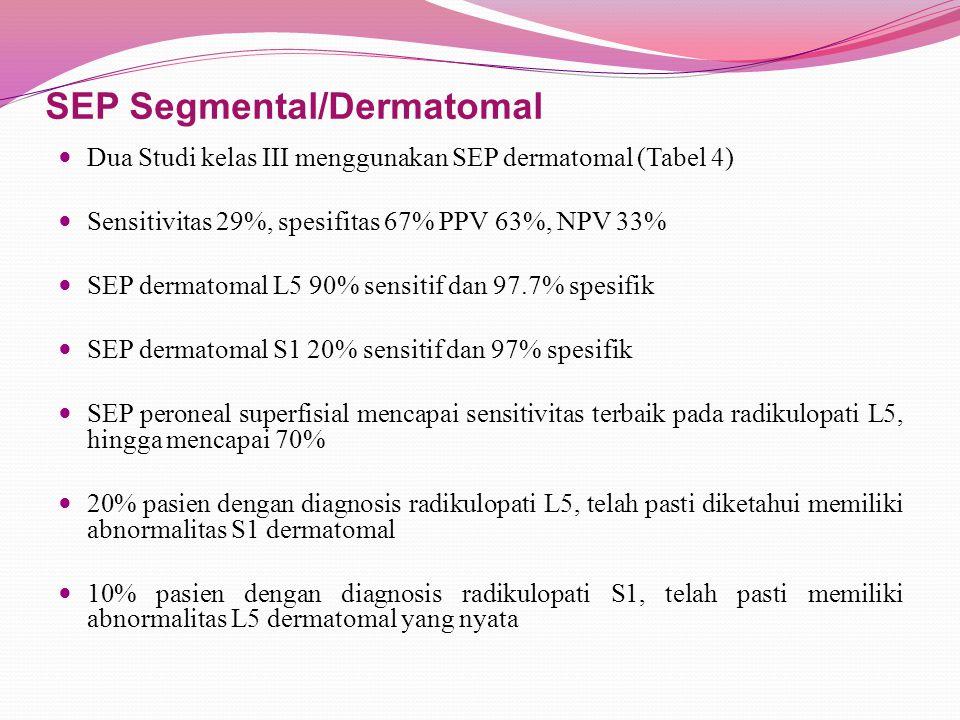 SEP Segmental/Dermatomal