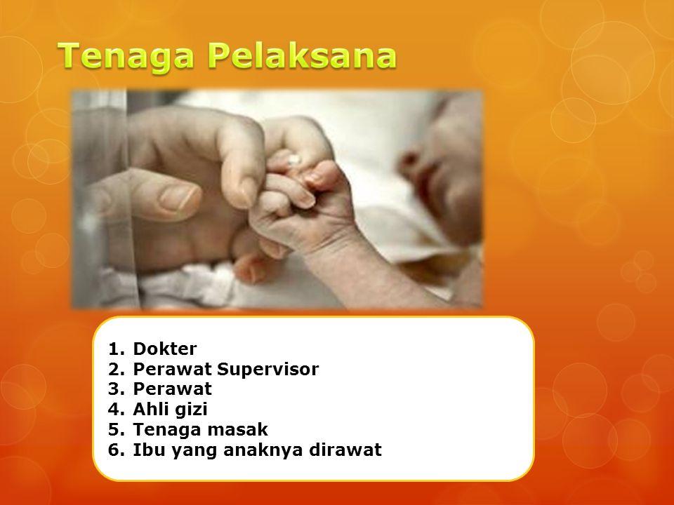 Tenaga Pelaksana Dokter Perawat Supervisor Perawat Ahli gizi