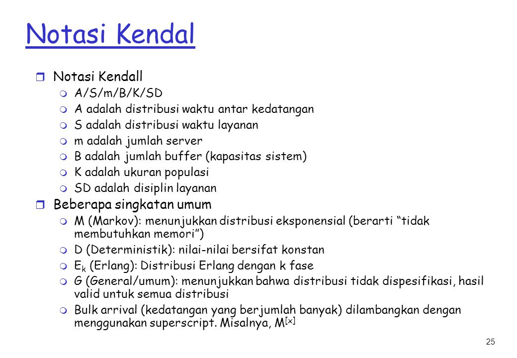 Notasi Kendal Notasi Kendall Beberapa singkatan umum A/S/m/B/K/SD