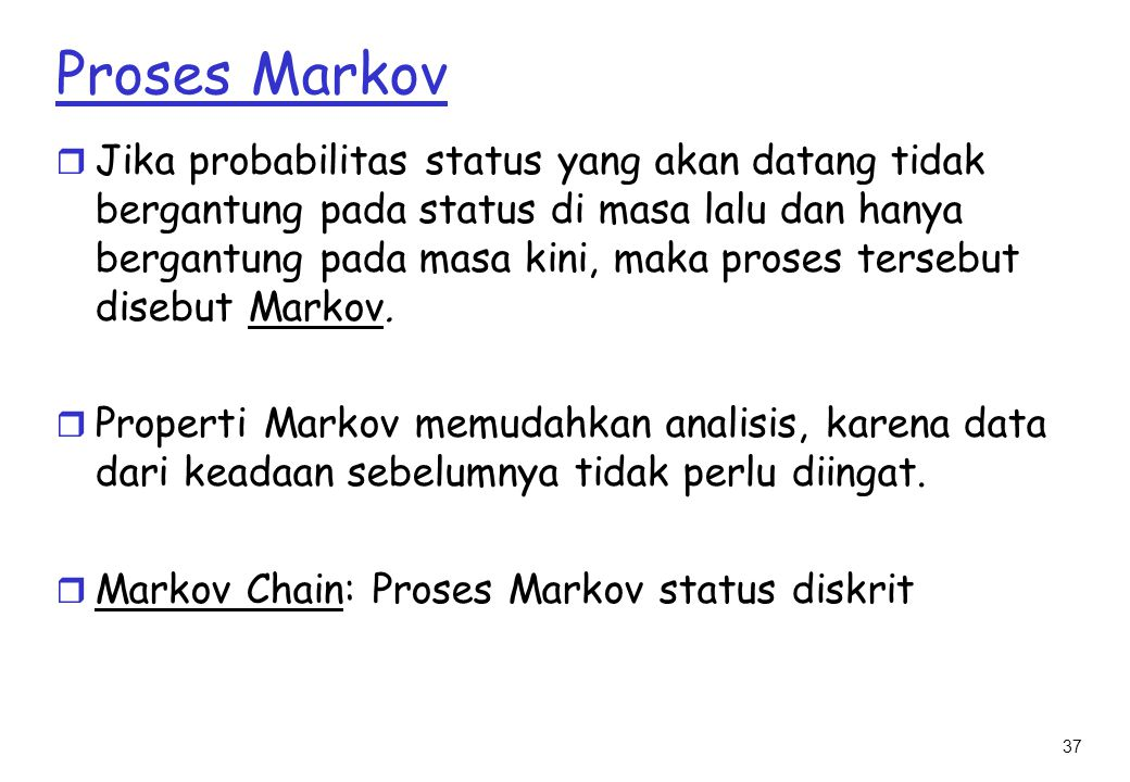 Proses Markov