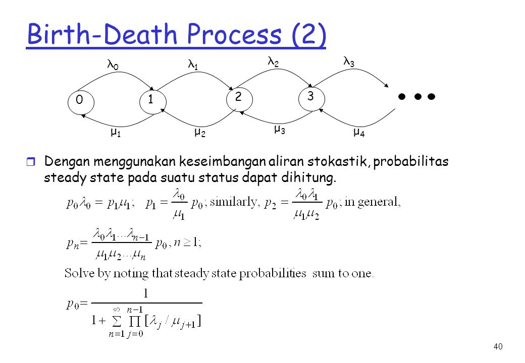 Birth-Death Process (2)