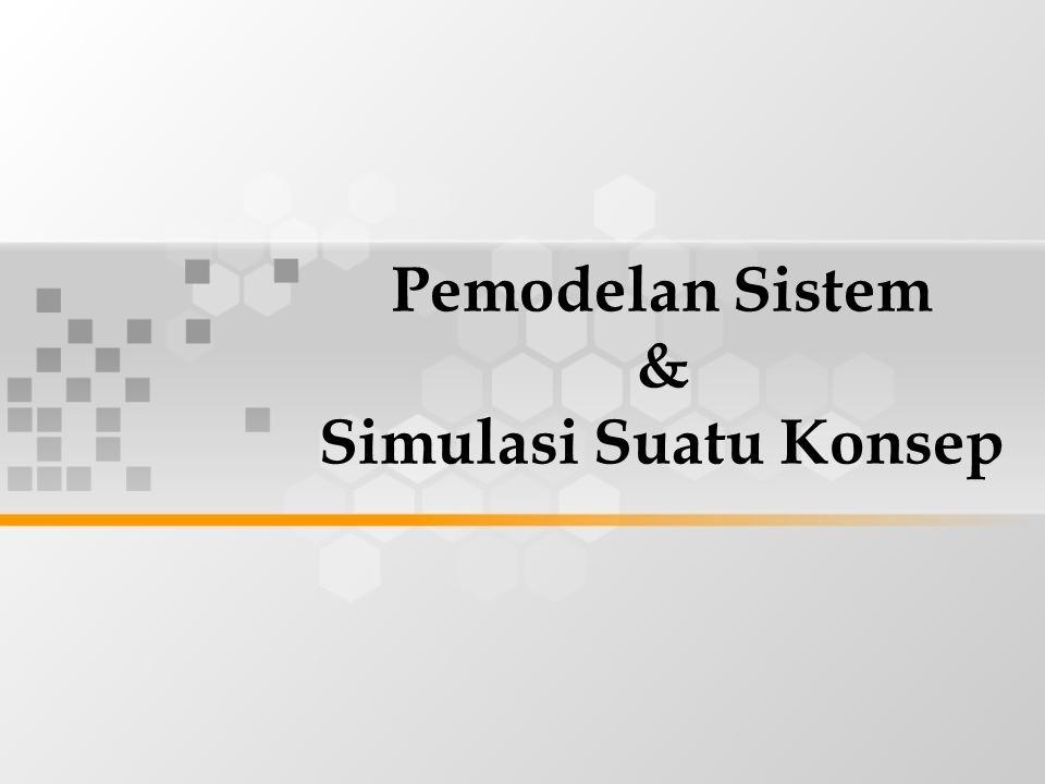 Pemodelan Sistem & Simulasi Suatu Konsep