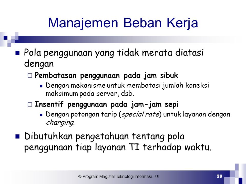 © Program Magister Teknologi Informasi - UI