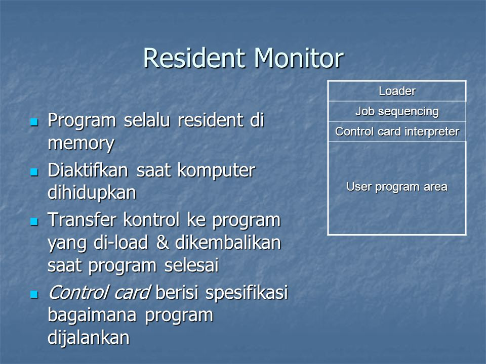Control card interpreter