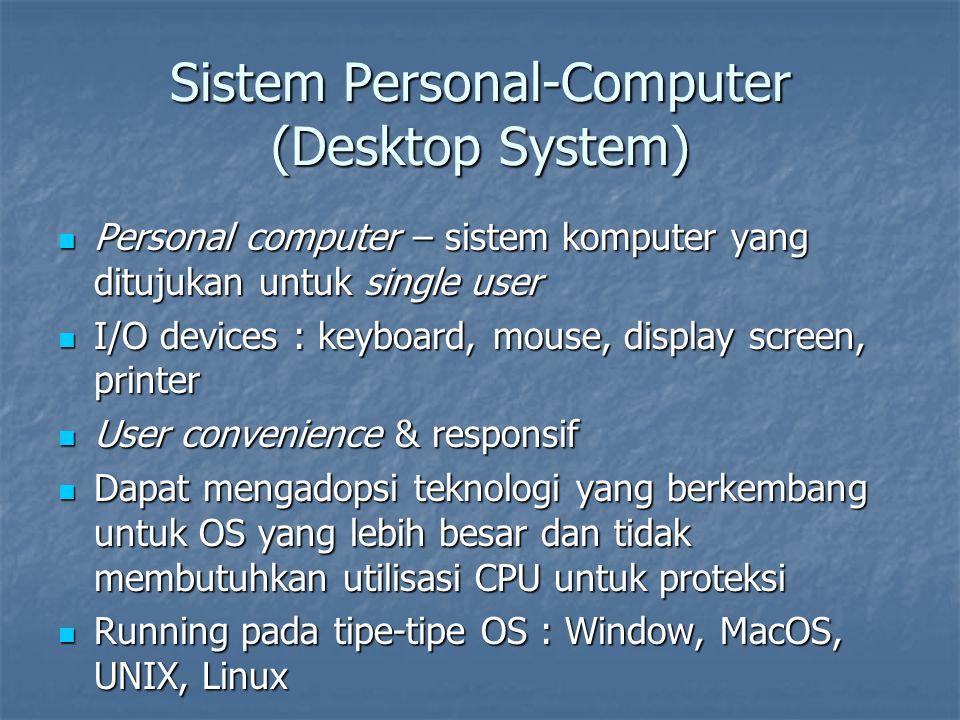 Sistem Personal-Computer (Desktop System)