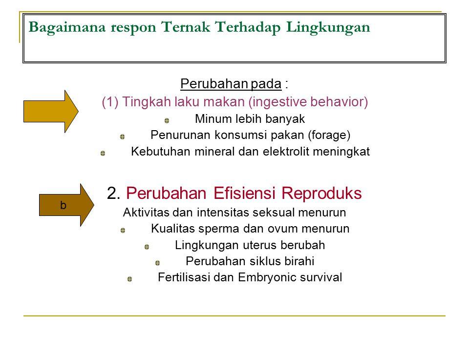Bagaimana respon Ternak Terhadap Lingkungan