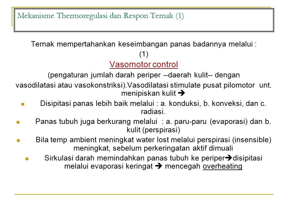 Mekanisme Thermoregulasi dan Respon Ternak (1)