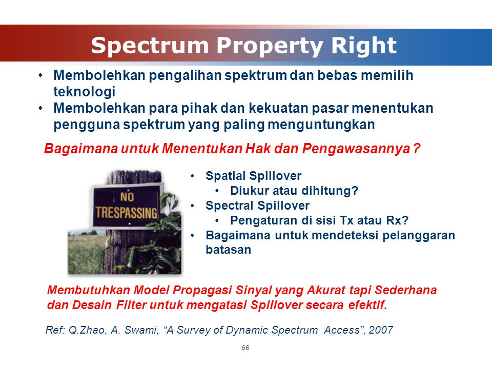 Spectrum Property Right