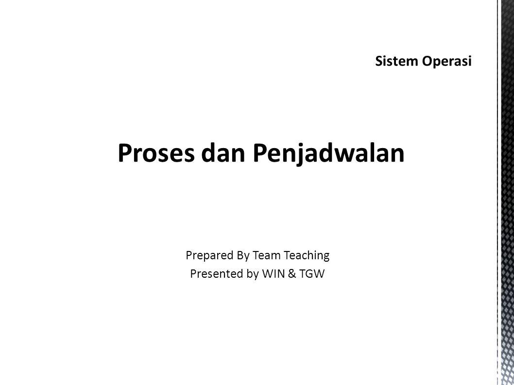 Proses dan Penjadwalan