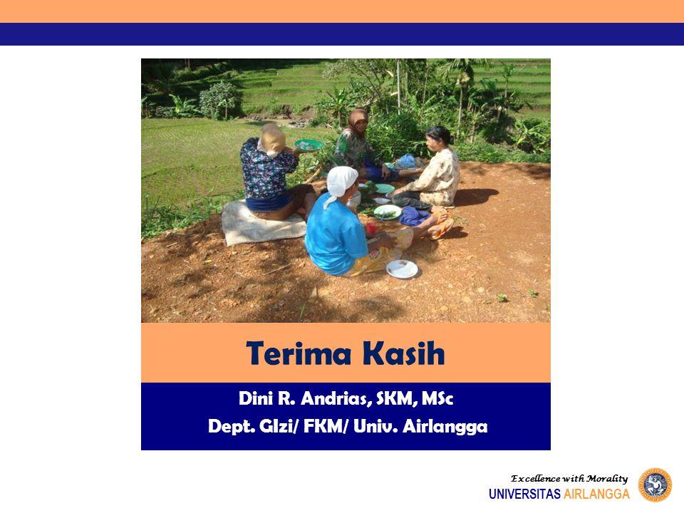 Dini R. Andrias, SKM, MSc Dept. GIzi/ FKM/ Univ. Airlangga