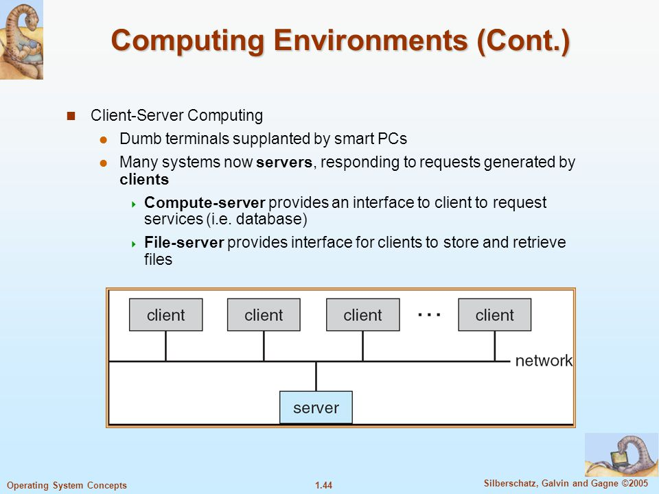 Computing Environments (Cont.)