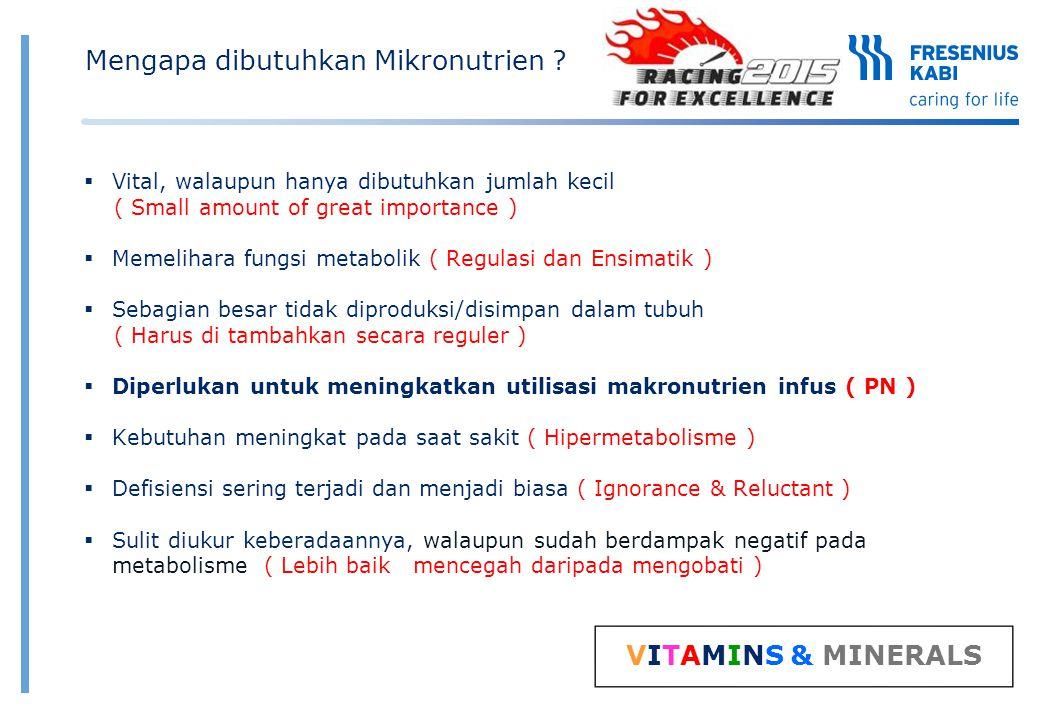 Mengapa dibutuhkan Mikronutrien