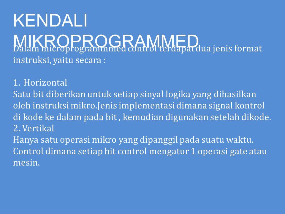 KENDALI MIKROPROGRAMMED