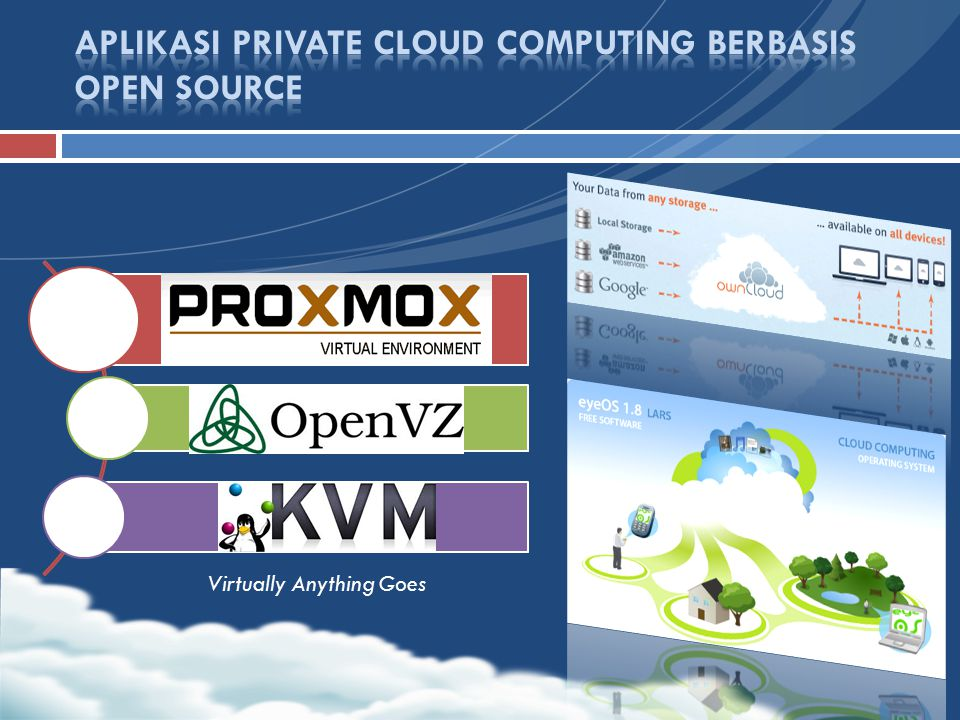 APLIKASI PRIVATE CLOUD COMPUTING BERBASIS OPEN SOURCE