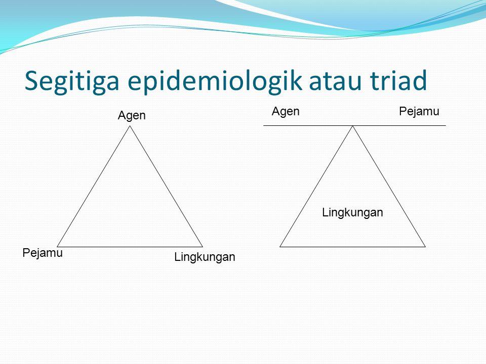 Segitiga epidemiologik atau triad