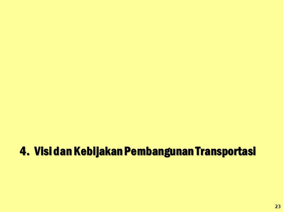 4. Visi dan Kebijakan Pembangunan Transportasi