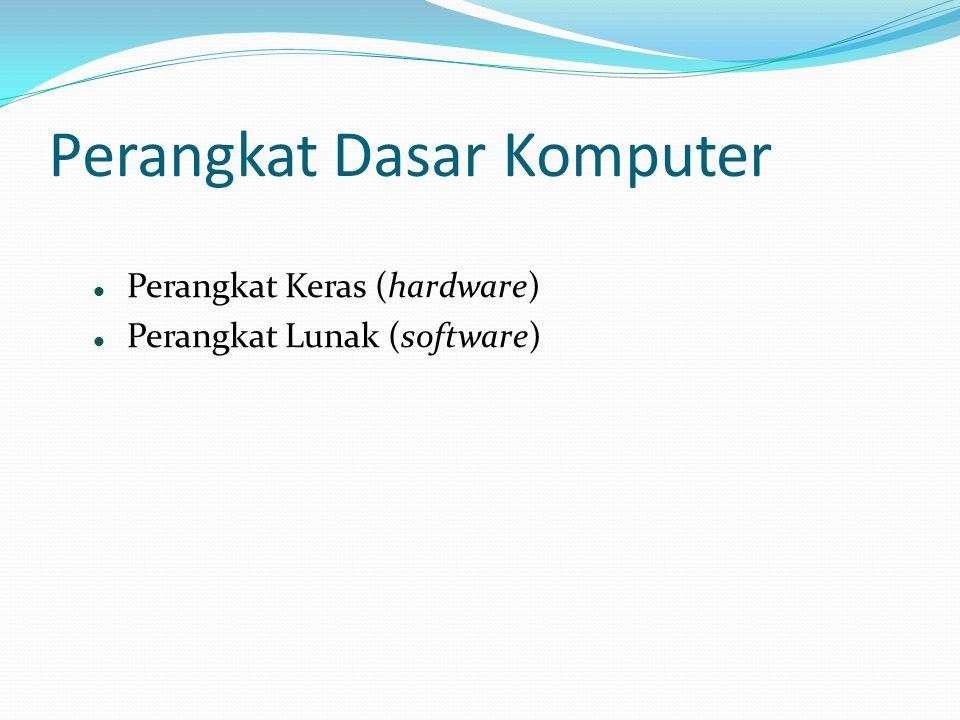 Perangkat Dasar Komputer