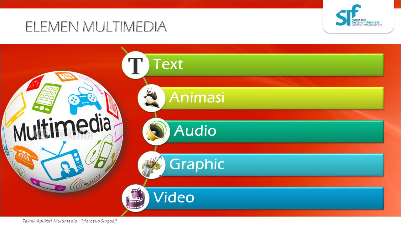 ELEMEN MULTIMEDIA Text Animasi Audio Graphic Video