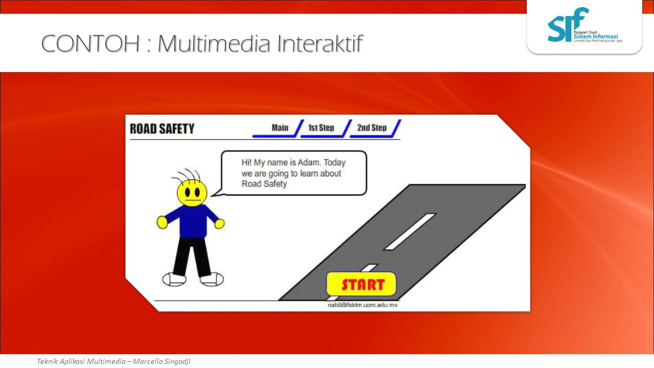 CONTOH : Multimedia Interaktif