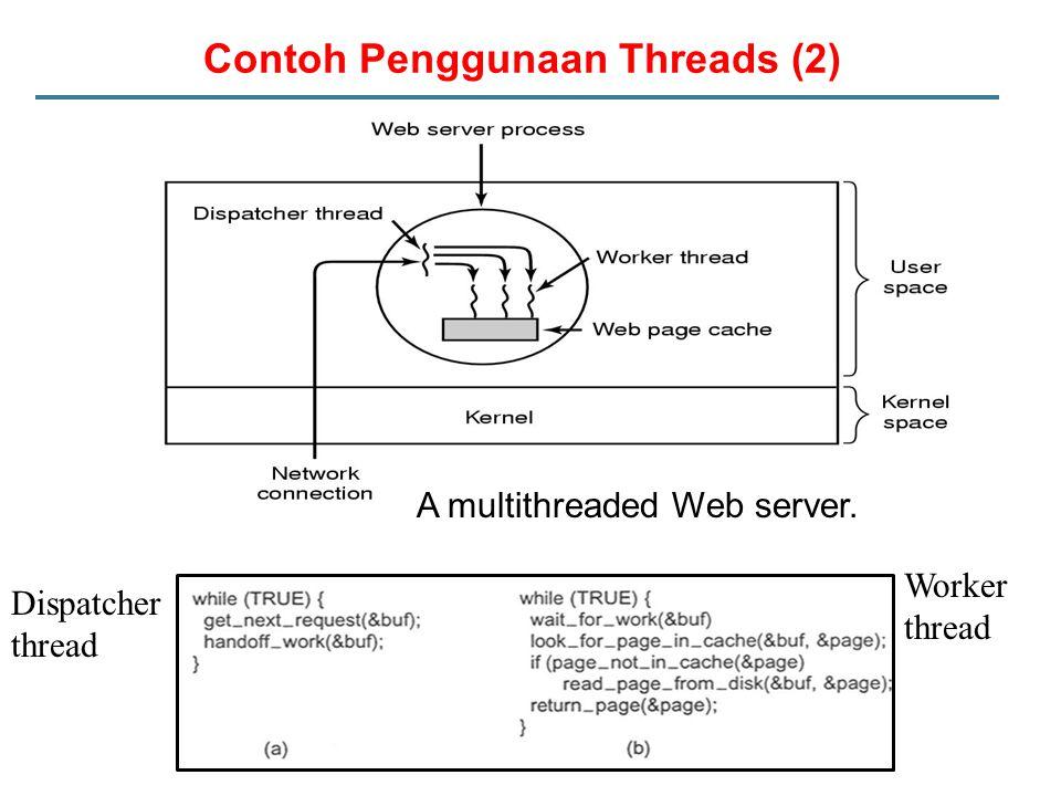 Contoh Penggunaan Threads (2)