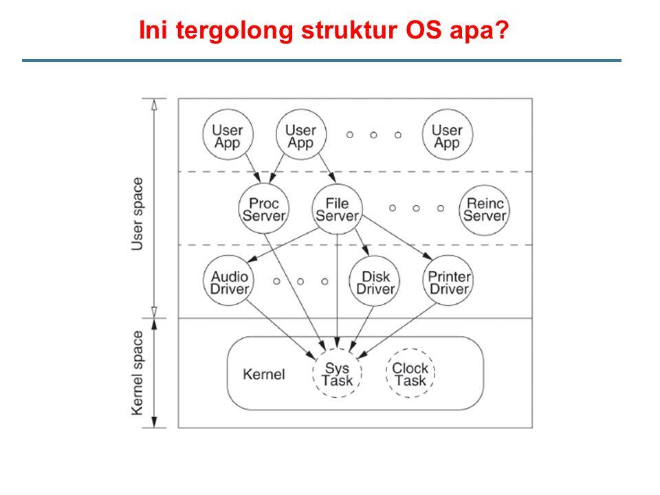 Ini tergolong struktur OS apa