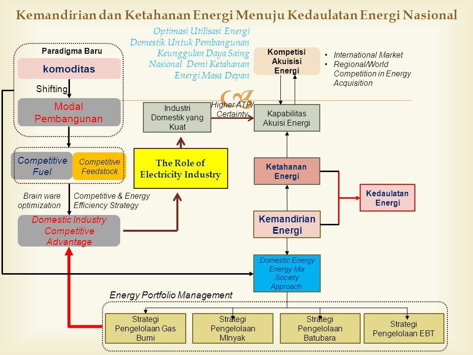 Kemandirian dan Ketahanan Energi Menuju Kedaulatan Energi Nasional