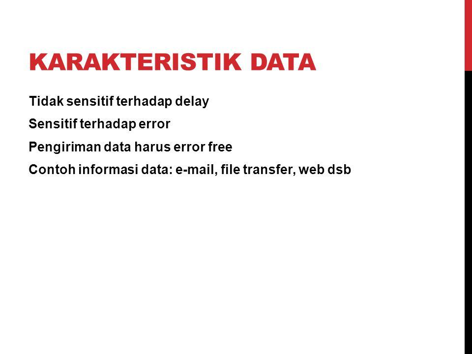 Karakteristik data