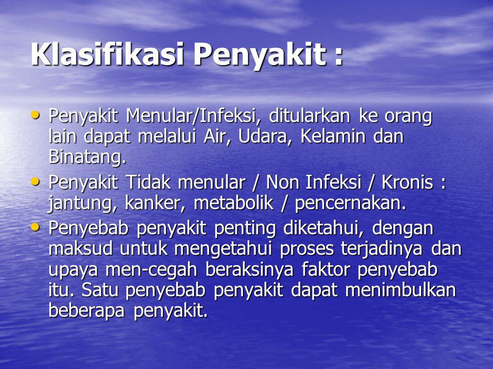 Klasifikasi Penyakit :