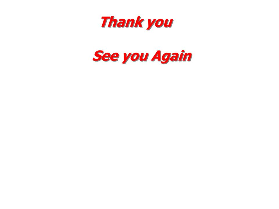 Thank you See you Again