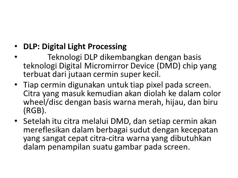 DLP: Digital Light Processing