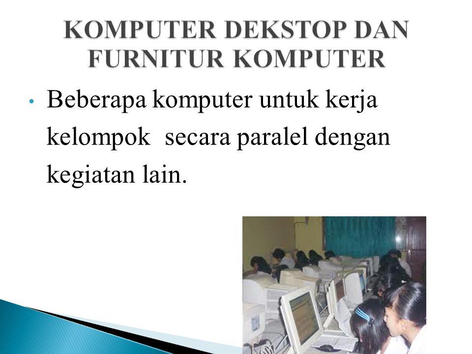 KOMPUTER DEKSTOP DAN FURNITUR KOMPUTER