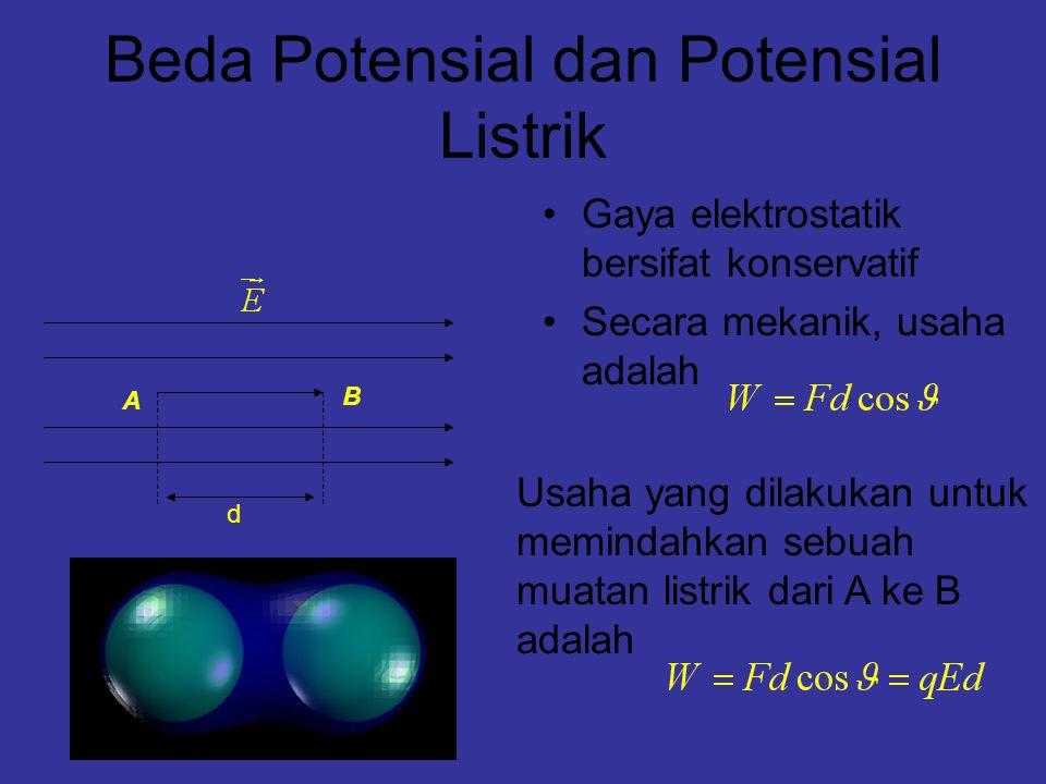 Beda Potensial dan Potensial Listrik