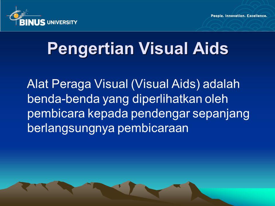 Pengertian Visual Aids