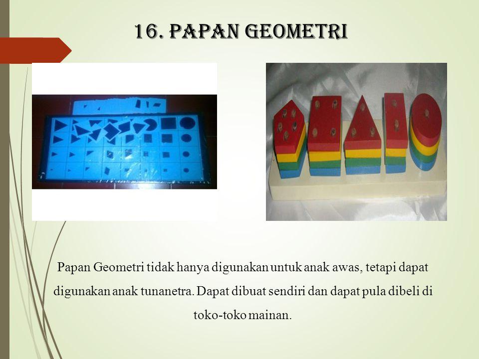 16. Papan geometri