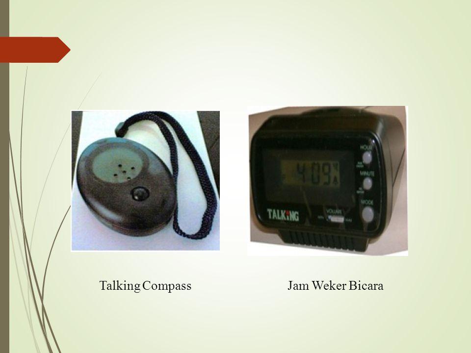 Talking Compass Jam Weker Bicara