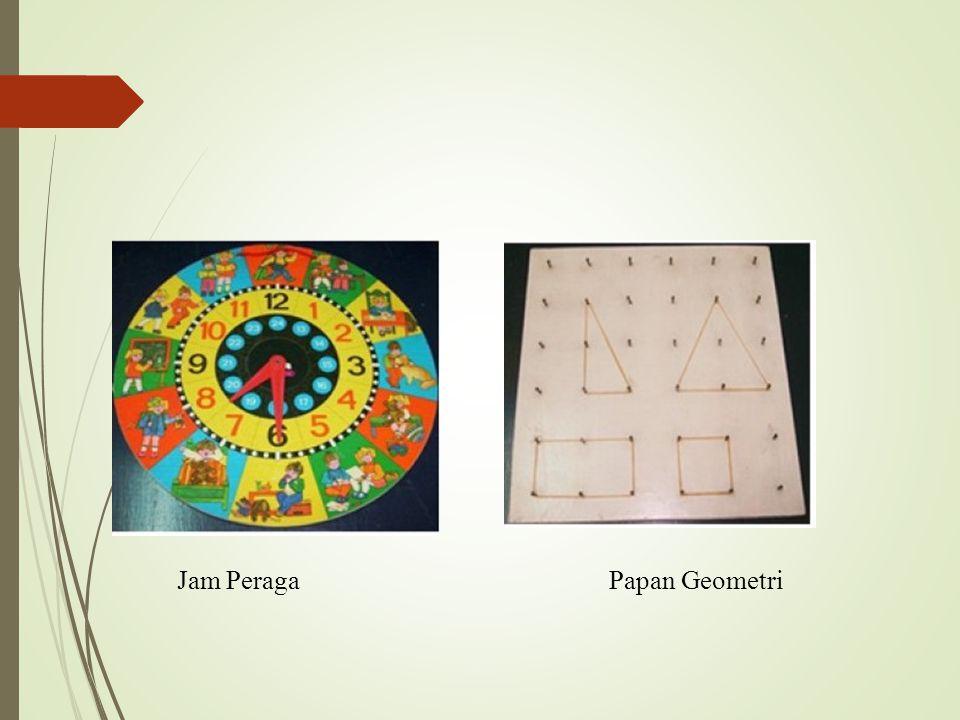 Jam Peraga Papan Geometri