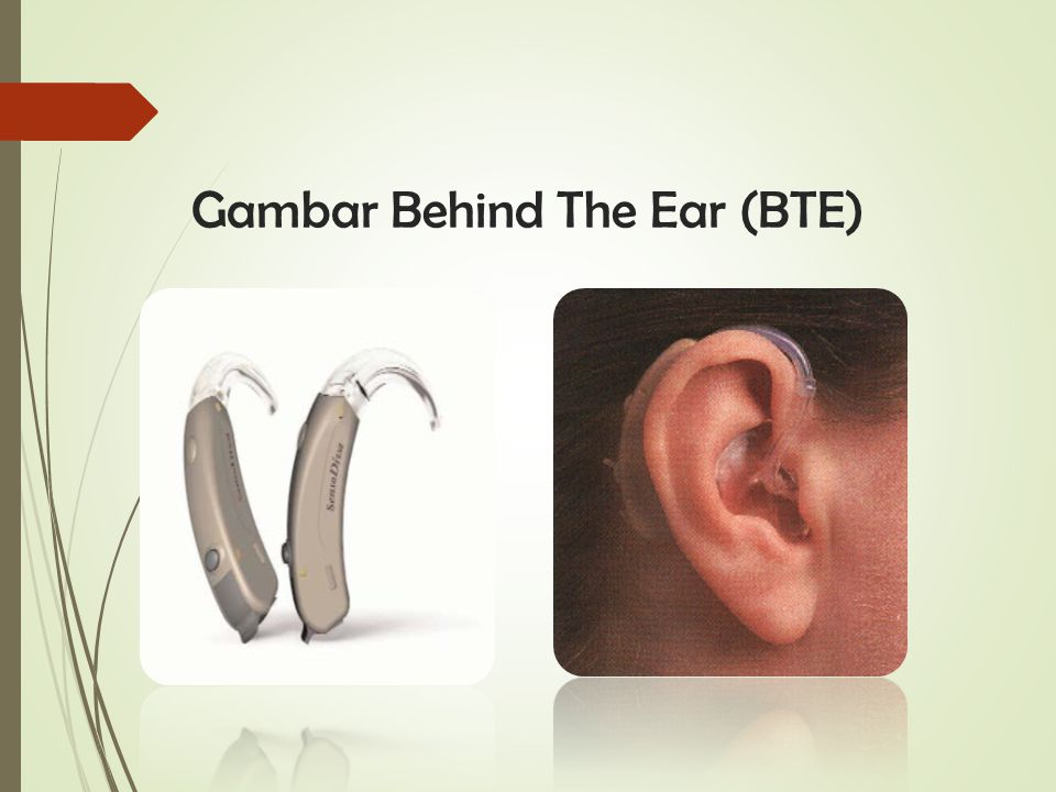 Gambar Behind The Ear (BTE)