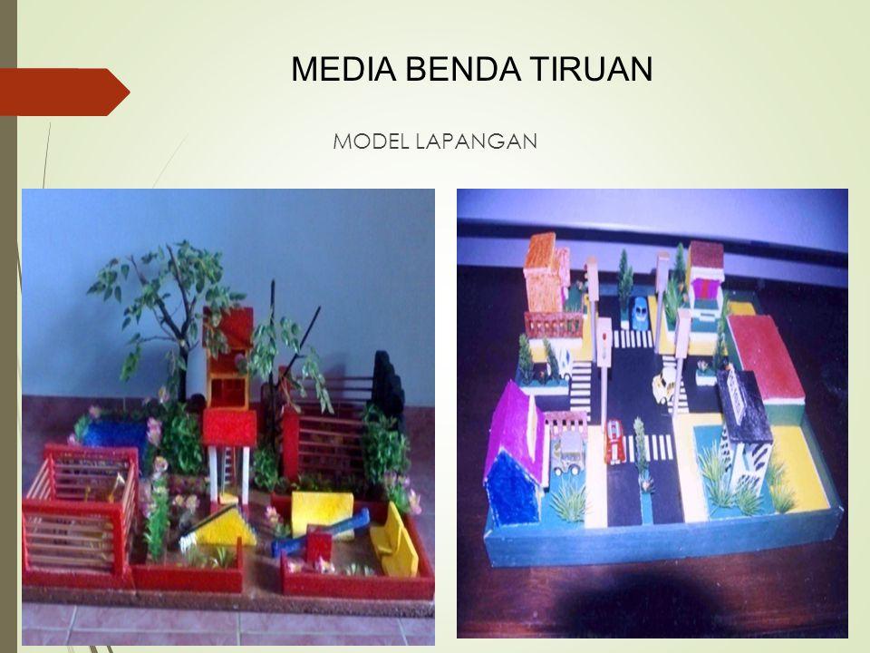 MEDIA BENDA TIRUAN MODEL LAPANGAN