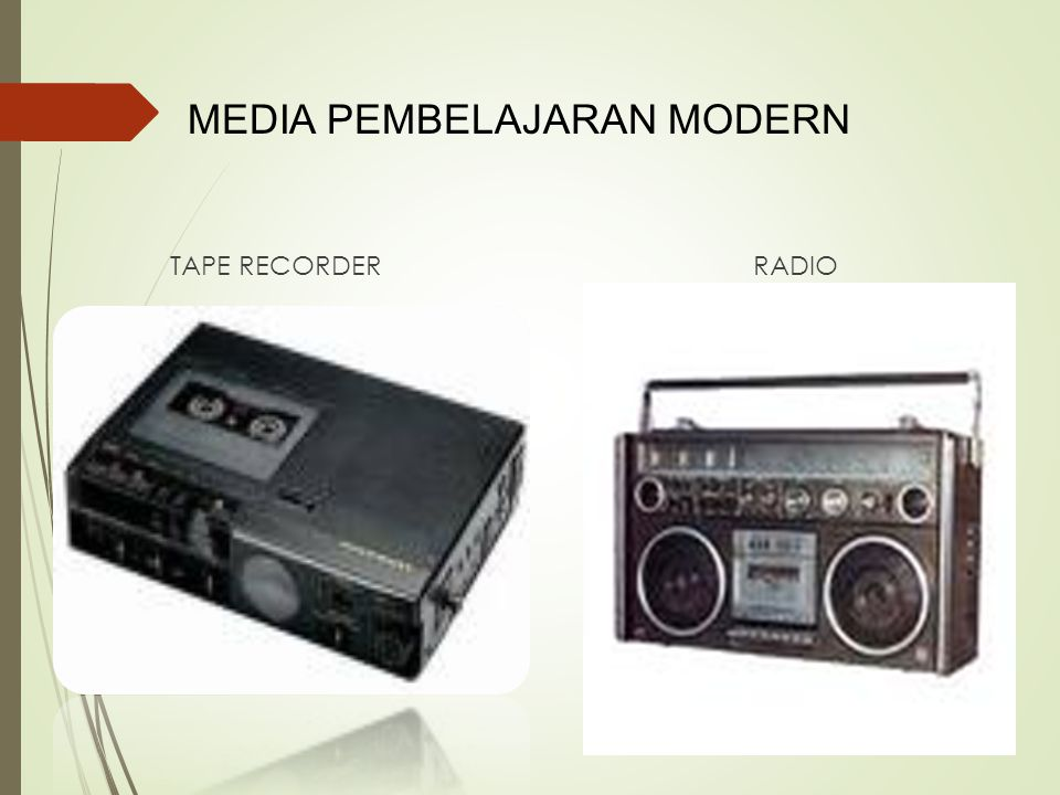 MEDIA PEMBELAJARAN MODERN