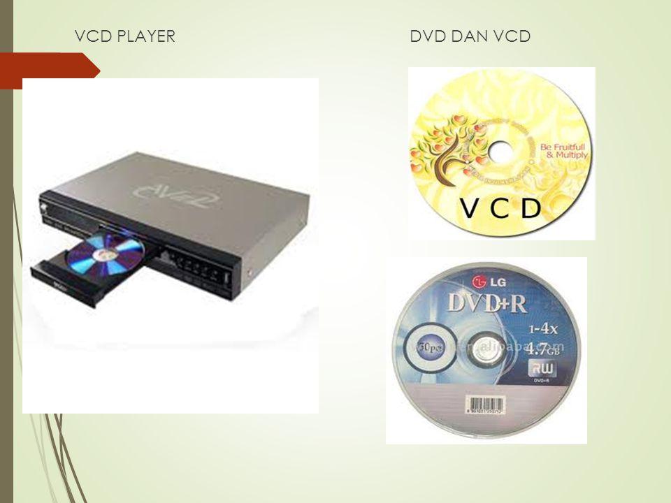 VCD PLAYER DVD DAN VCD
