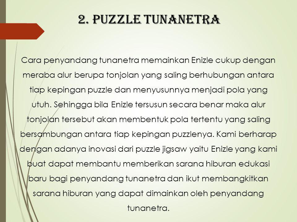 2. PUZZLE TUNANETRA