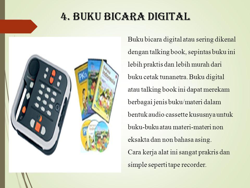 4. Buku bicara digital