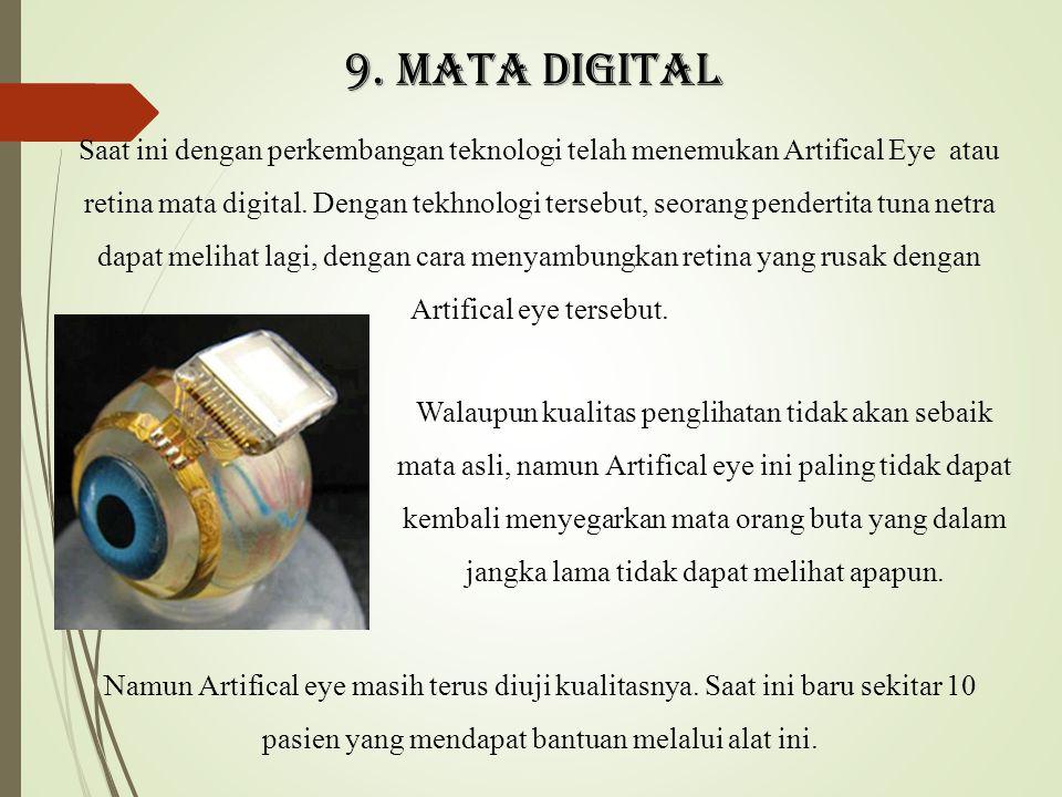 9. Mata digital