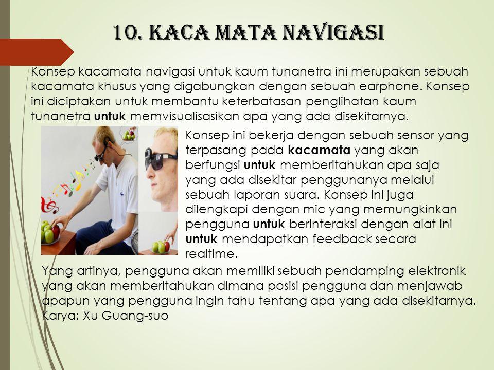 10. Kaca mata navigasi